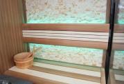 Sauna seca + sauna húmeda con ducha AU-002B