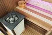 Sauna seca + sauna úmida com ducha AU-002B
