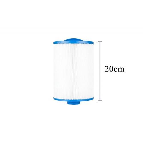 Pack 4x3 filtros para spa cortos