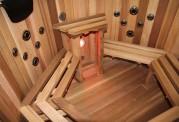 Ofuro japonês / Tina de madeira exterior AT-002A