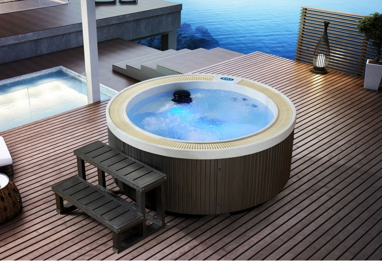 Spa jacuzzi exterior AS-005