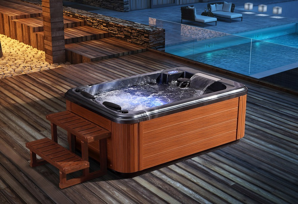Spa jacuzzi exterior AS-010