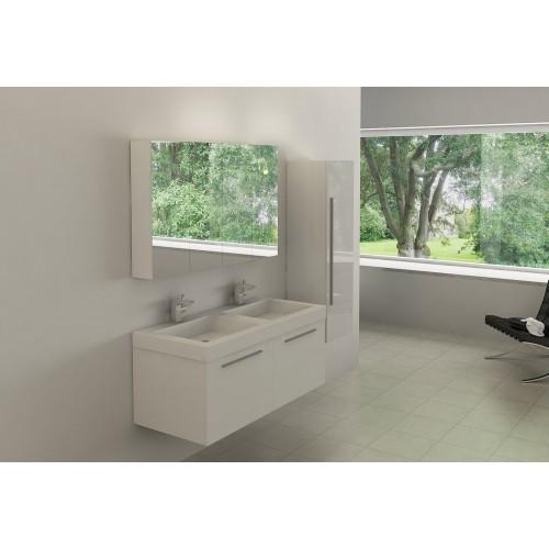 Conjunto mueble de baño suspendido AB-004A