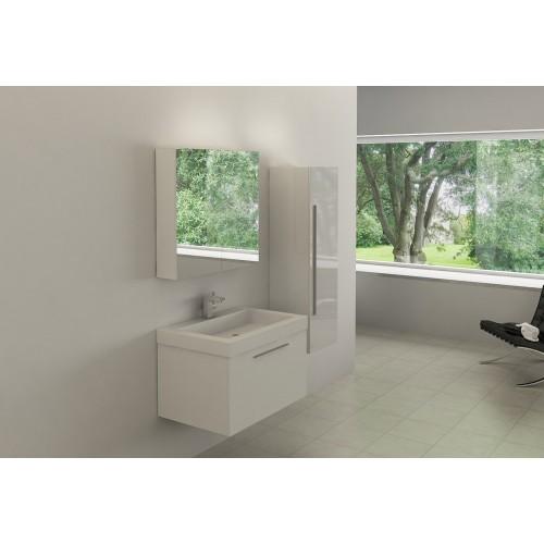 Conjunto mueble de baño suspendido AB-003A