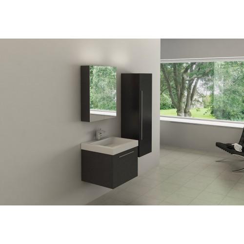 Conjunto mueble de baño suspendido AB-002C