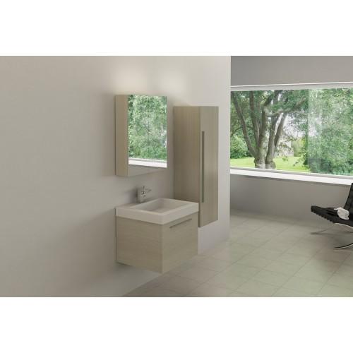 Conjunto mueble de baño suspendido AB-002B