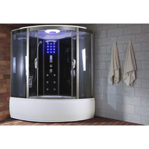 Cabina de hidromasaje económica AR-007 (con función sauna)
