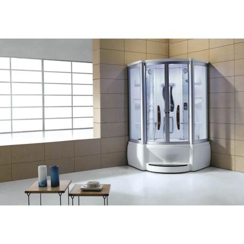 Cabine hidromassagem e banheira com sauna AT-010A