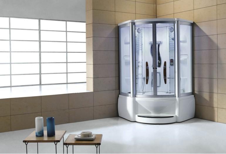 Cabine de hidromassagem e banheira com sauna AT-010A