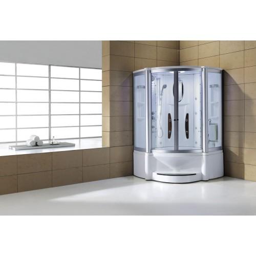Cabine hidromassagem e banheira com sauna AT-010B