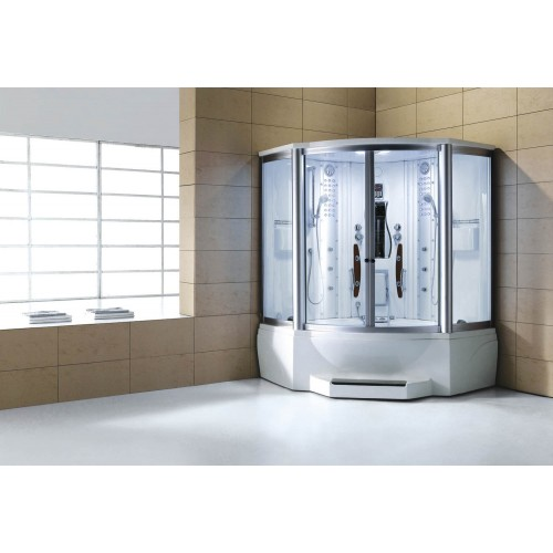 Cabine hidromassagem e banheira com sauna AT-010C