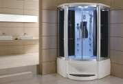 Cabina hidromasaje y bañera con sauna AT-011A
