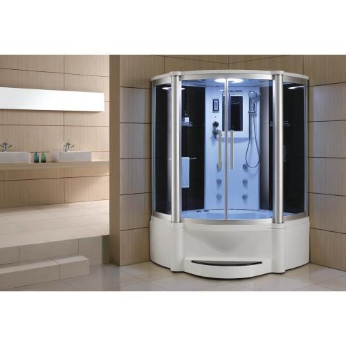 Cabine hidromassagem e banheira com sauna AT-011B