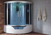 Cabine de hidromassagem e banheira com sauna AT-012A
