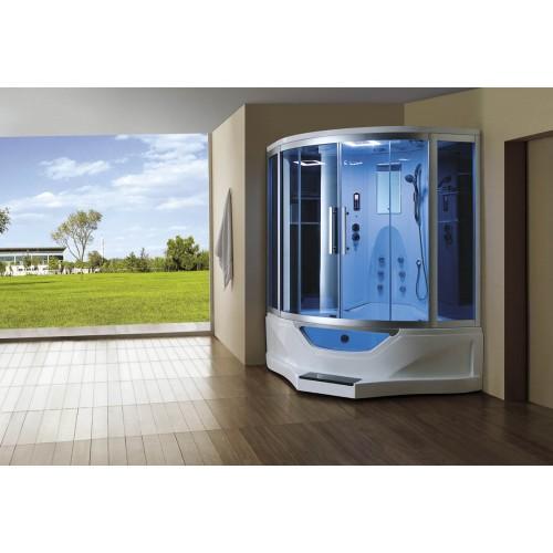 Cabine hidromassagem e banheira com sauna AT-012B
