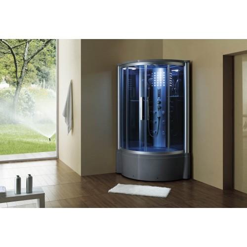 Cabine hidromassagem e banheira com sauna AT-013