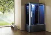 Cabine de hidromassagem e banheira com sauna AT-015