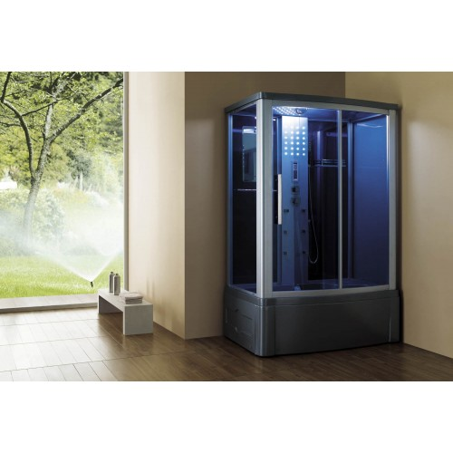Cabine hidromassagem e banheira com sauna AT-015