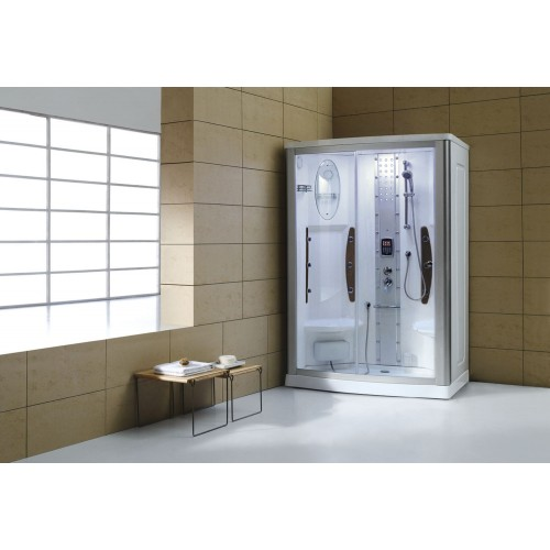 Cabine hidromassagem com sauna AS-015