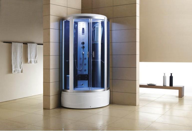 Cabine de hidromassagem e banheira com sauna AT-002