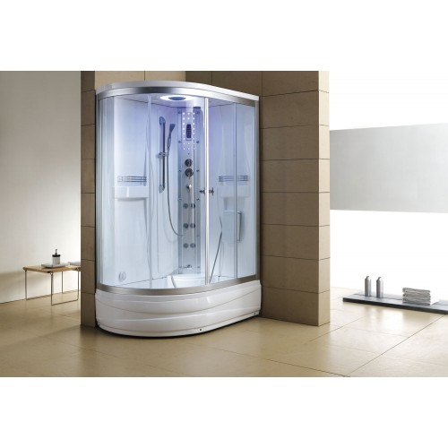 Cabina hidromasaje y bañera con sauna AT-004-1