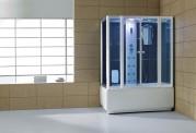 Cabine de hidromassagem e banheira com sauna AT-008