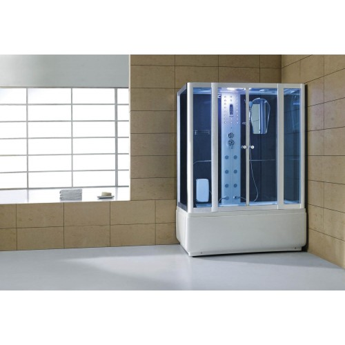 Cabine hidromassagem e banheira com sauna AT-008
