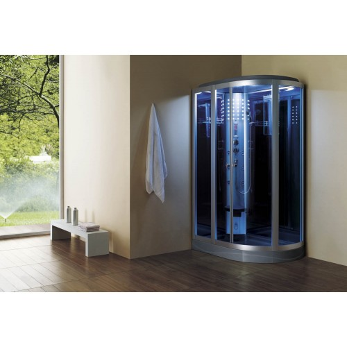 Cabine hidromassagem com sauna AS-020B