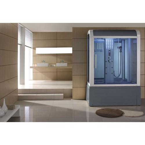 Cabine hidromassagem e banheira com sauna AT-009