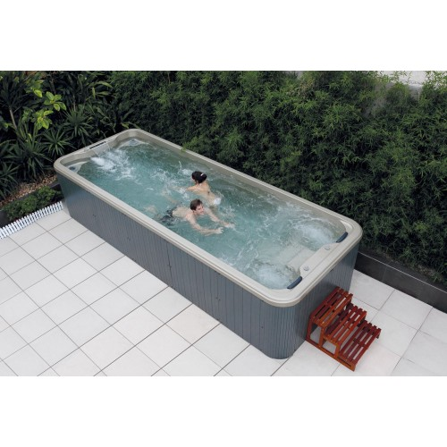 Piscina de hidromassagem swim spa AT-005