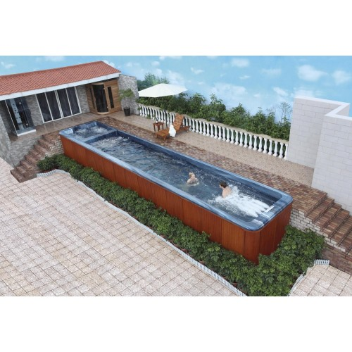 Piscina de hidromassagem swim spa AT-009
