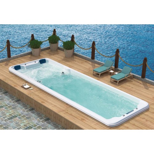 Piscina de hidromassagem swim spa AT-007