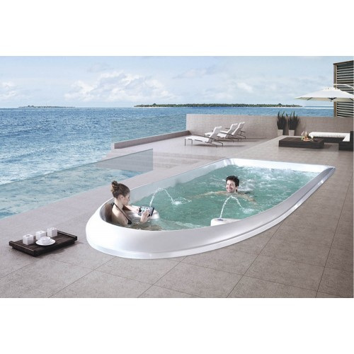 Piscina de hidromassagem swim spa AT-010B