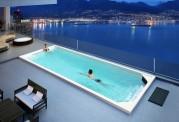 Piscina de hidromassagem spa AT swim-011