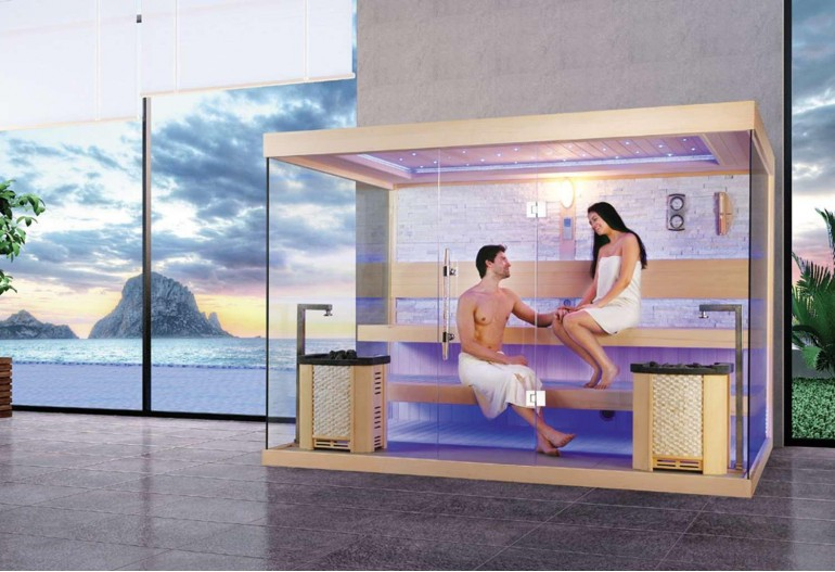 Sauna seca premium AX-021D