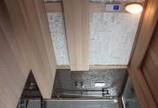 Sauna seca y sauna húmeda con ducha AT-002A