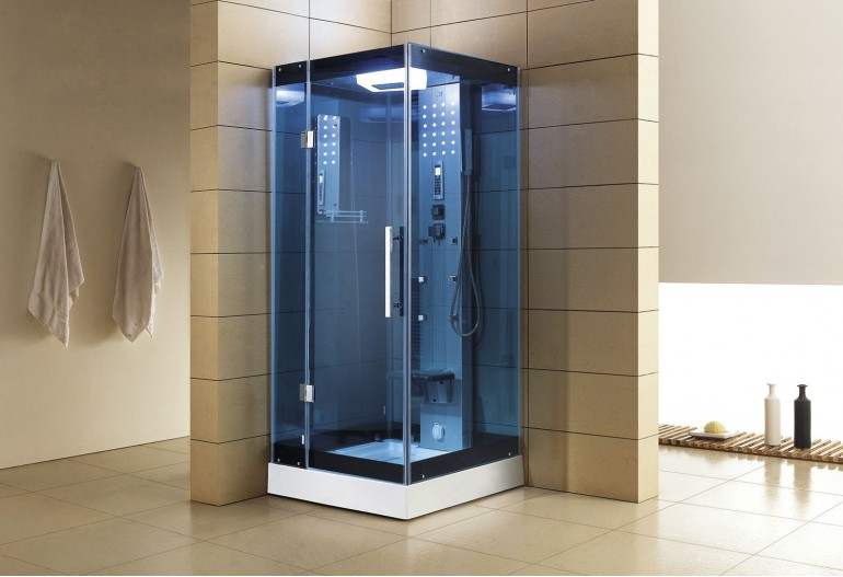 Cabine de hidromassagem com sauna AS-004B