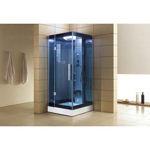 Cabina hidromasaje con sauna AS-004B-3