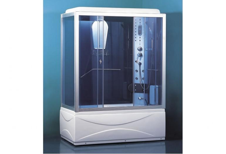 Cabine de hidromassagem e banheira com sauna AT-007B