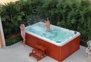 Piscina de hidromassagem swim spa AT-001