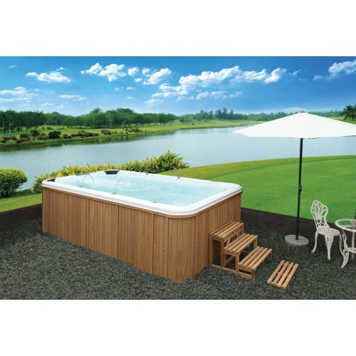 Piscina de hidromassagem swim spa AT-003
