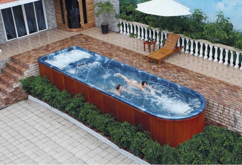 Piscina de hidromassagem spa AT swim-006