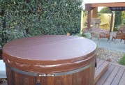 Ofuro japonés / Tina de madera exterior AU-002C