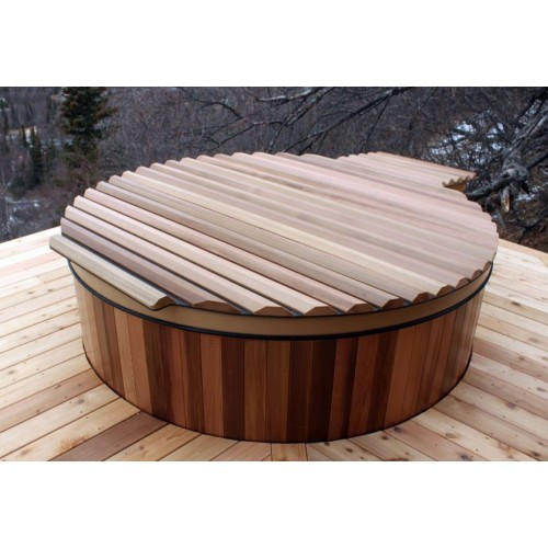 Ofuro japonês / Banheira de madeira exterior AT-002A