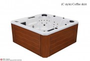 Spa jacuzzi exterior AT-006A