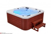 Spa jacuzzi exterior AT-012